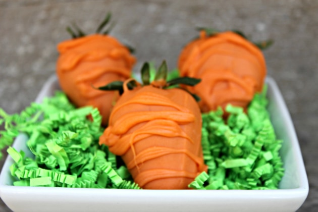 Chocolate Covered Strawberry Carrots 4