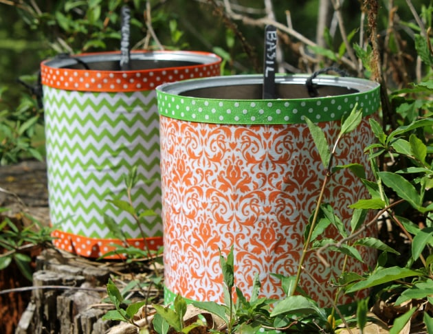 Coffee Can Planters