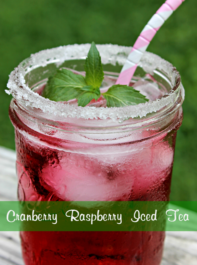 Cranberry Raspberry Iced Tea pin