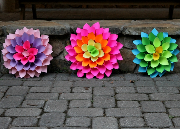 2 Home Decor Project: Paper Flower Craft