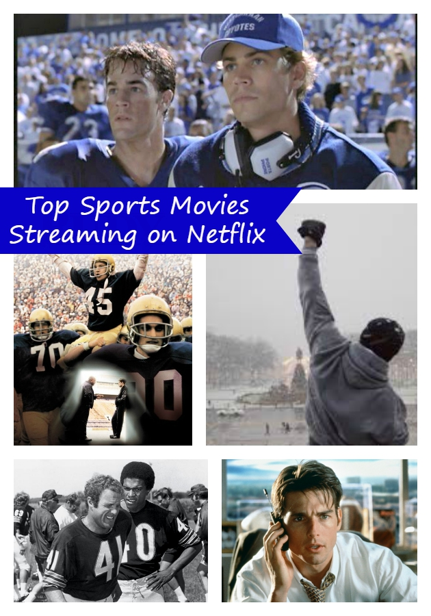 Best sports movies streaming now on netflix kicking it with kelly