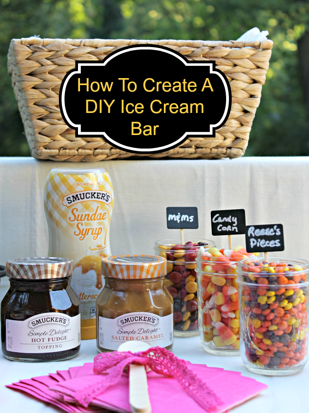 How To Create A DIY Ice Cream Bar pin