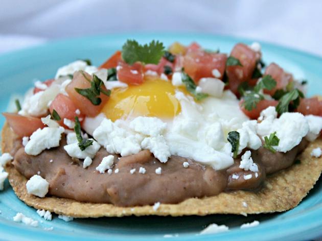 Vegetarian Huevos Rancheros and Fresh Pico de Gallo2