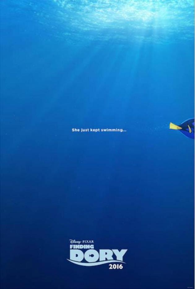 Finding Dory Teaser Trailer poster
