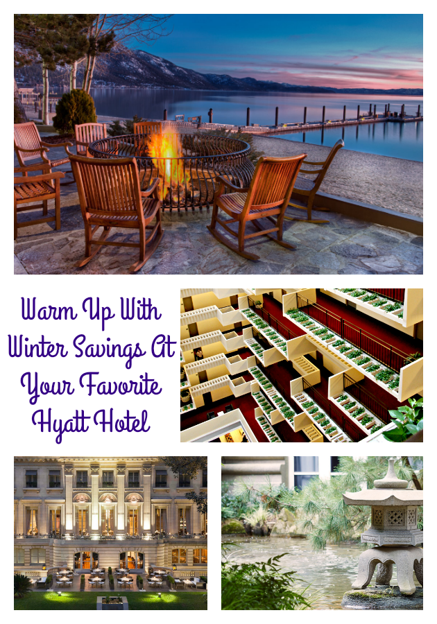 Are you planning to do some traveling this winter? Why not warm up with the Winter Savings At Your Favorite Hyatt Hotel #InAHyattWorld #ad
