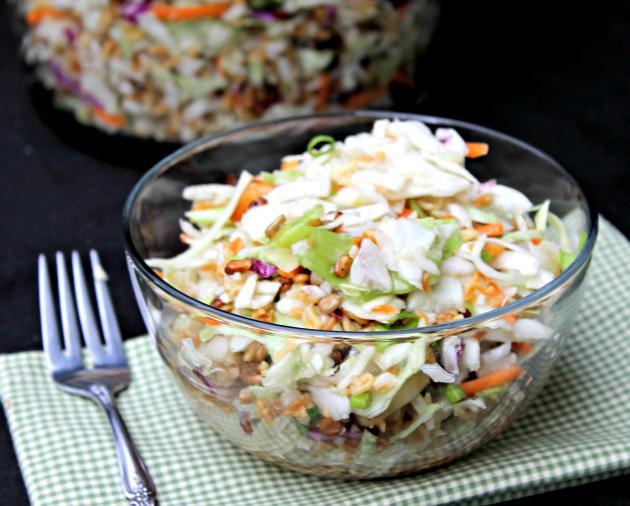 Nutty Asian Ramen Noodle Salad 3