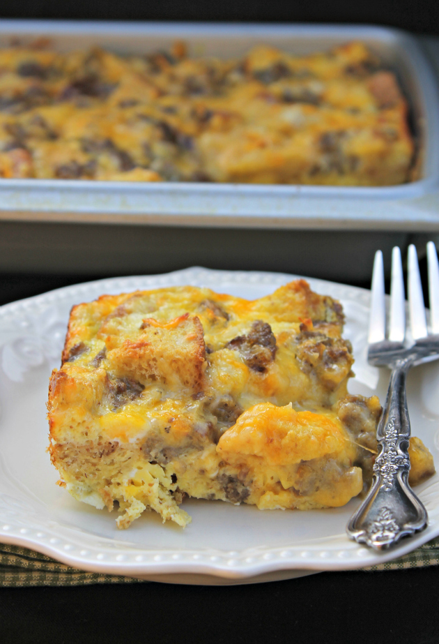 Four Ingredient Breakfast Casserole recipe 2