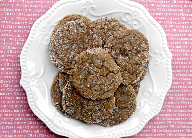 Chewy Gingerbread Cookie Recipe #SweetSwaps 1