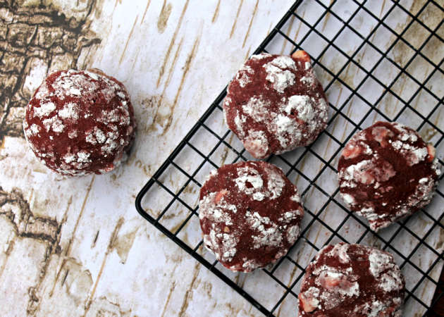 Red Velvet Crinkle Cookies #MakeItPerfectly