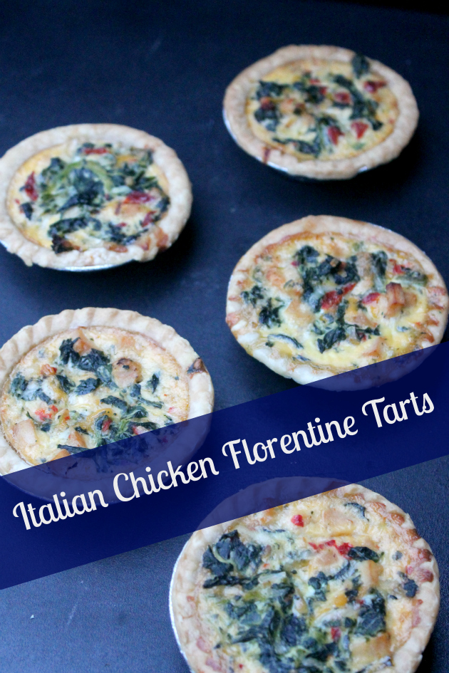 #ad If you are looking for an easy and delicious game day snack, these Italian Chicken Florentine Tarts . They are a real crowd pleaser and won't last long! #OneBowlWonder
