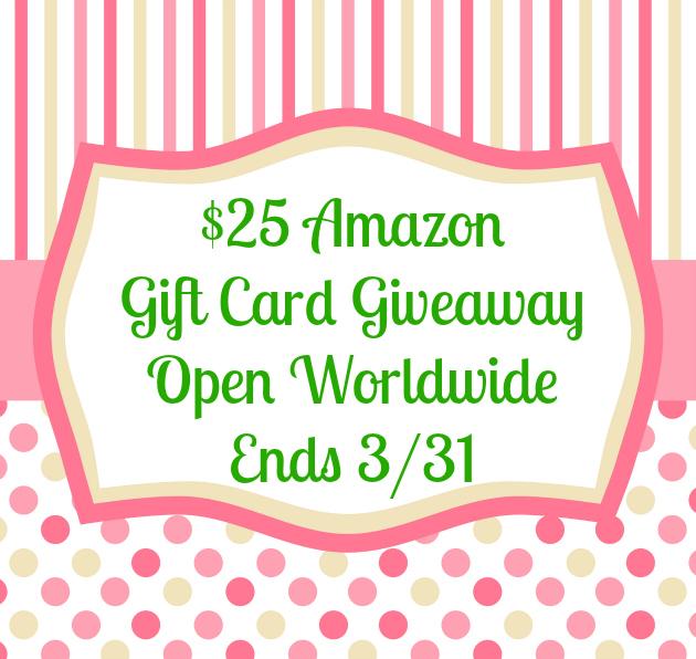 $25 Amazon GC Giveaway template