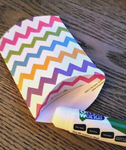 DIY Pillow Box Candy Holder ends