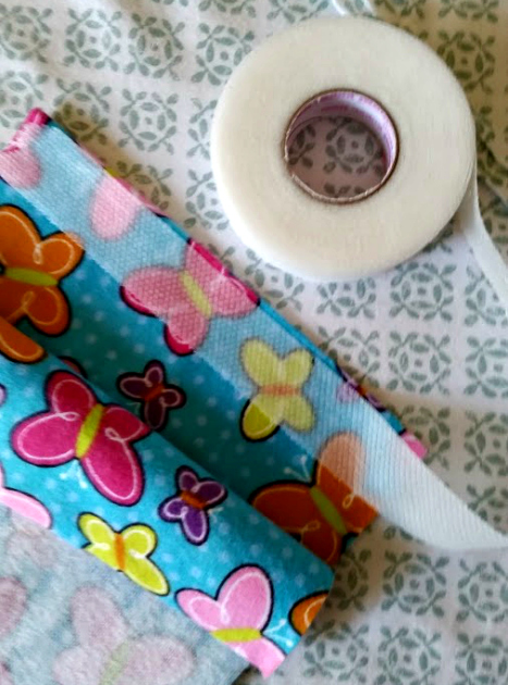 DIY No Sew Relaxing Sleep Pillow tape