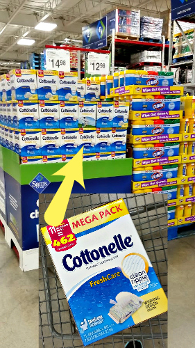 DIY No Sew Tote Bag Cottonelle at Sam's