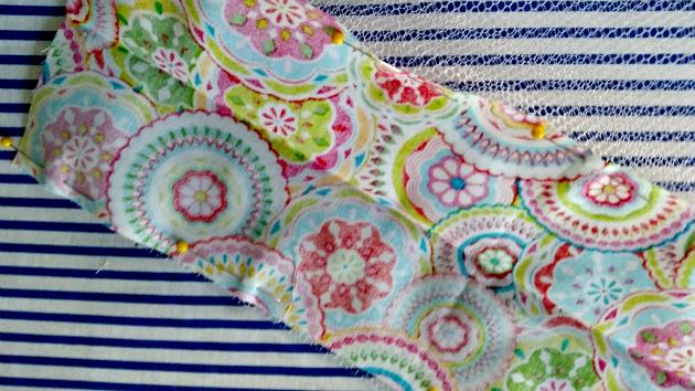 Easy To Sew DIY Mesh Laundry Bag bottom