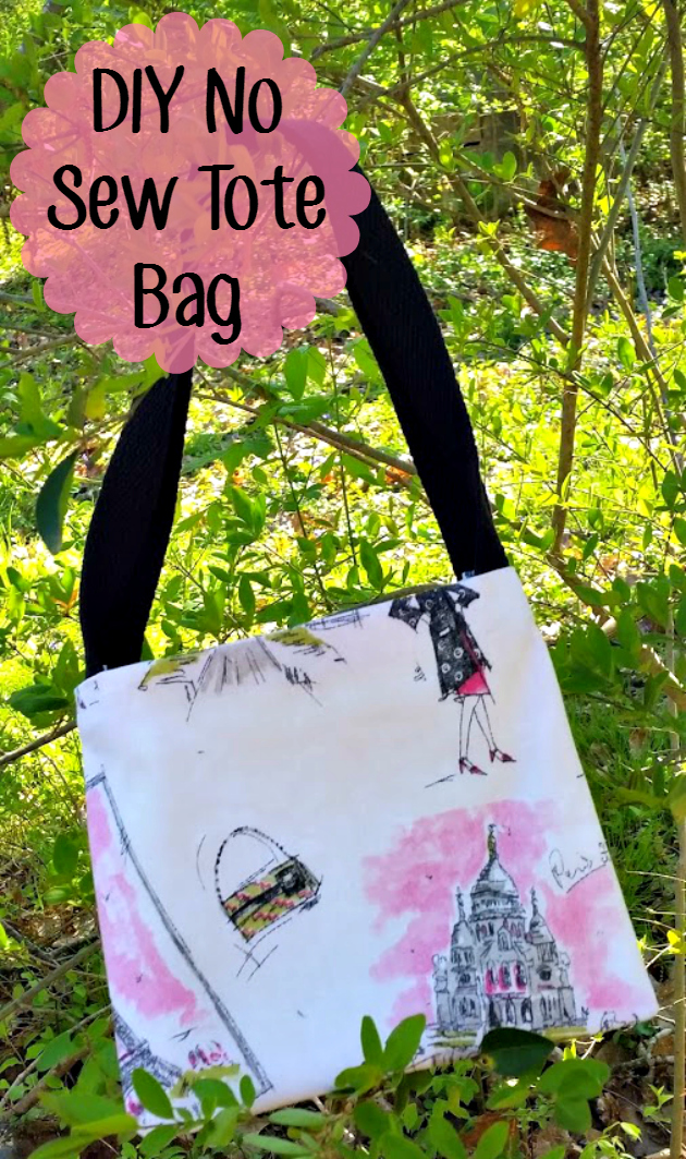 Do you need a little bag to carry your essentials while you are out and about? Try this super cute and easy DIY No Sew Tote Bag #CleanRippleStyle #ad