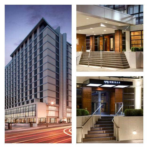 Hutton Hotel in Nashville collage