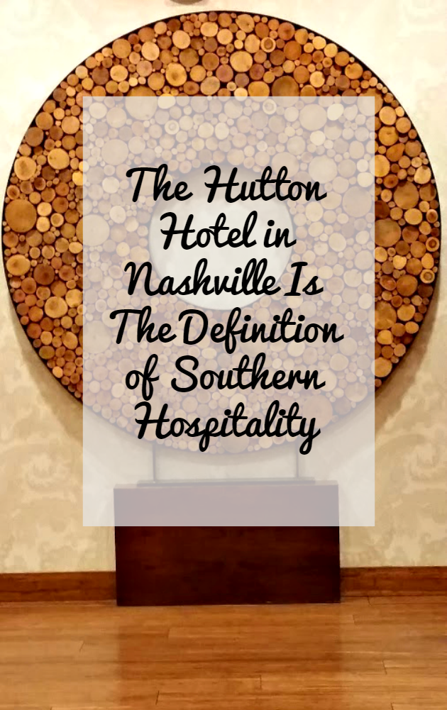 If you are visiting Nashville, I highly recommend staying at the Hutton Hotel.it is the definition of southern hospitality