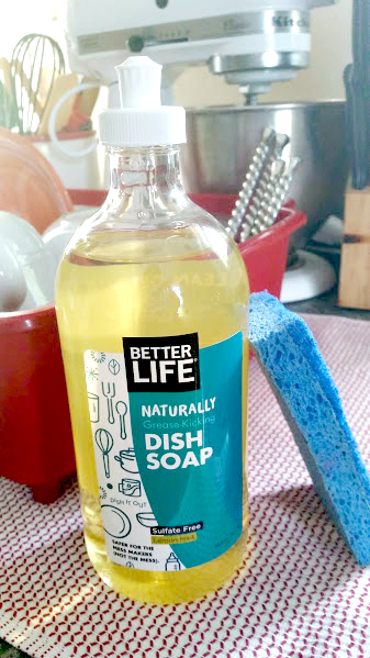 5 Ways To Go Green At Home dish soap