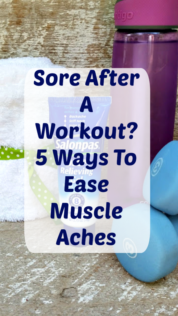 Sore After A Workout? Here Are 5 Ways To Ease Muscle Aches