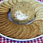 Caramelized  Onion Cheese Ball Recipe Dare Crackers
