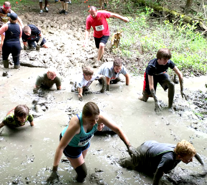 Mudder's Day Madness 5K mud