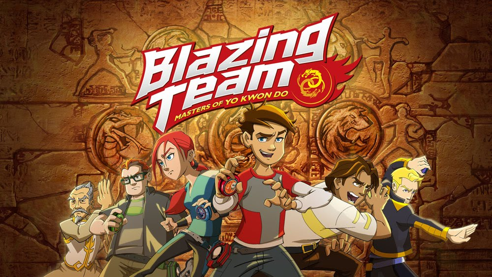 Celebrate #NationalYoYoDay With Blazing Team cartoon