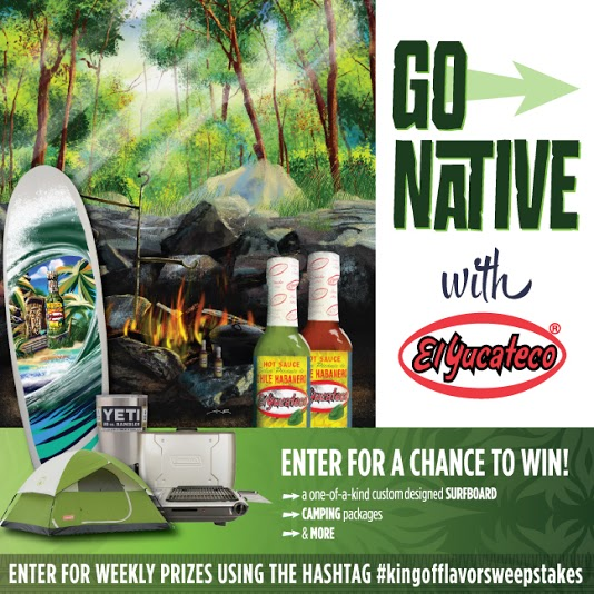 Go Native with El Yucateco® and Win!!