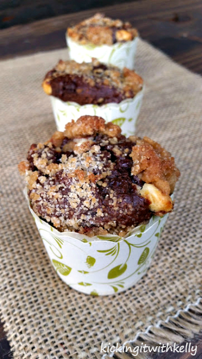 Double Chocolate Chip Zucchini Streusel Muffins 8b