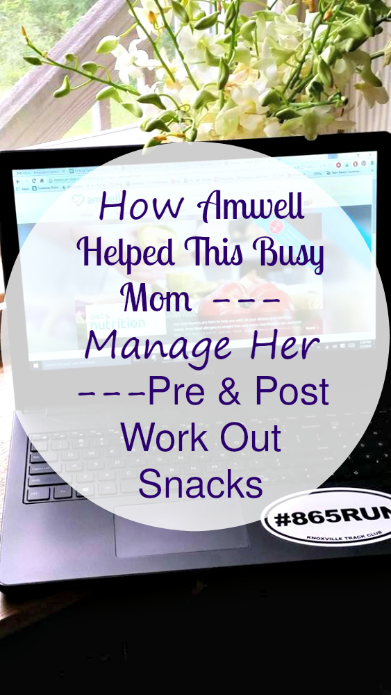 I am a busy mom who doesn't have time to spend at the doctor. Instead, I used Amwell to manage my pre and post workout snacks! Easy peasy! #MomsLoveAmwell #ad