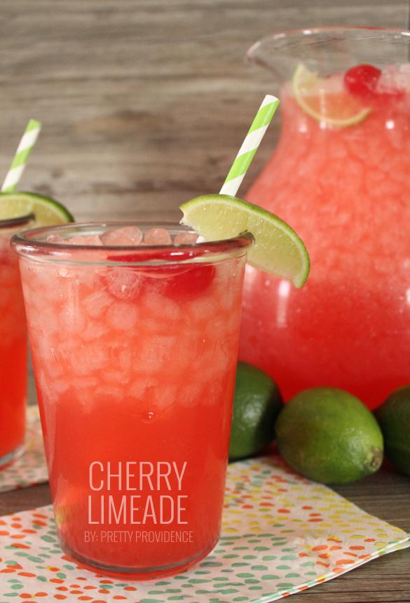 refreshing summer drinks cherry-limeade-1