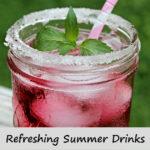 refreshing summer drinks  kelly