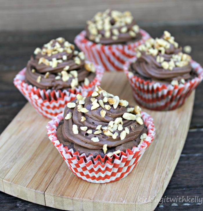 Banana Nut Fudge Brownie Cupcakes 3