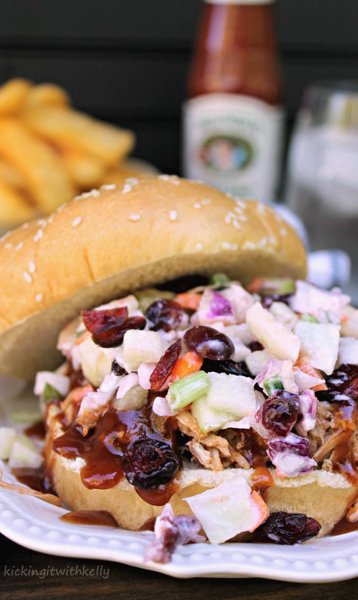 Easy tailgating recipe crockpot pulled pork sandwich for Easy tailgating recipes for a crowd