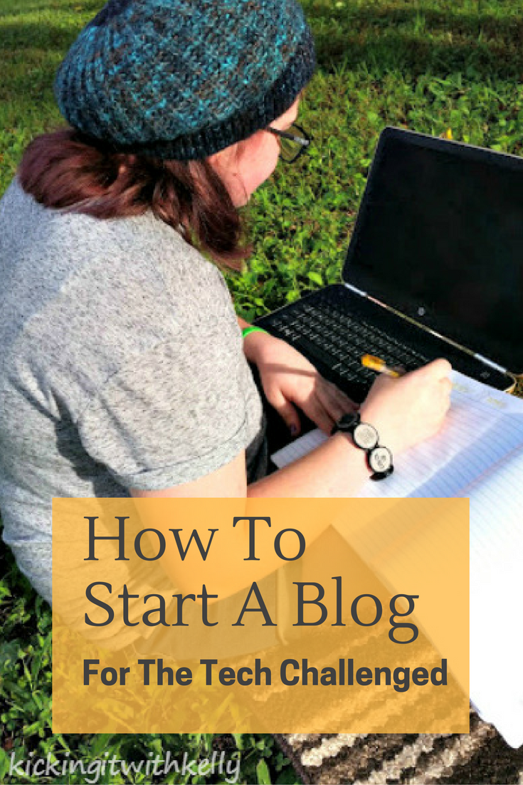Interest in blogging, but not sure where to begin? Here are a few simple steps to Start A Blog For The Tech Challenged #ad