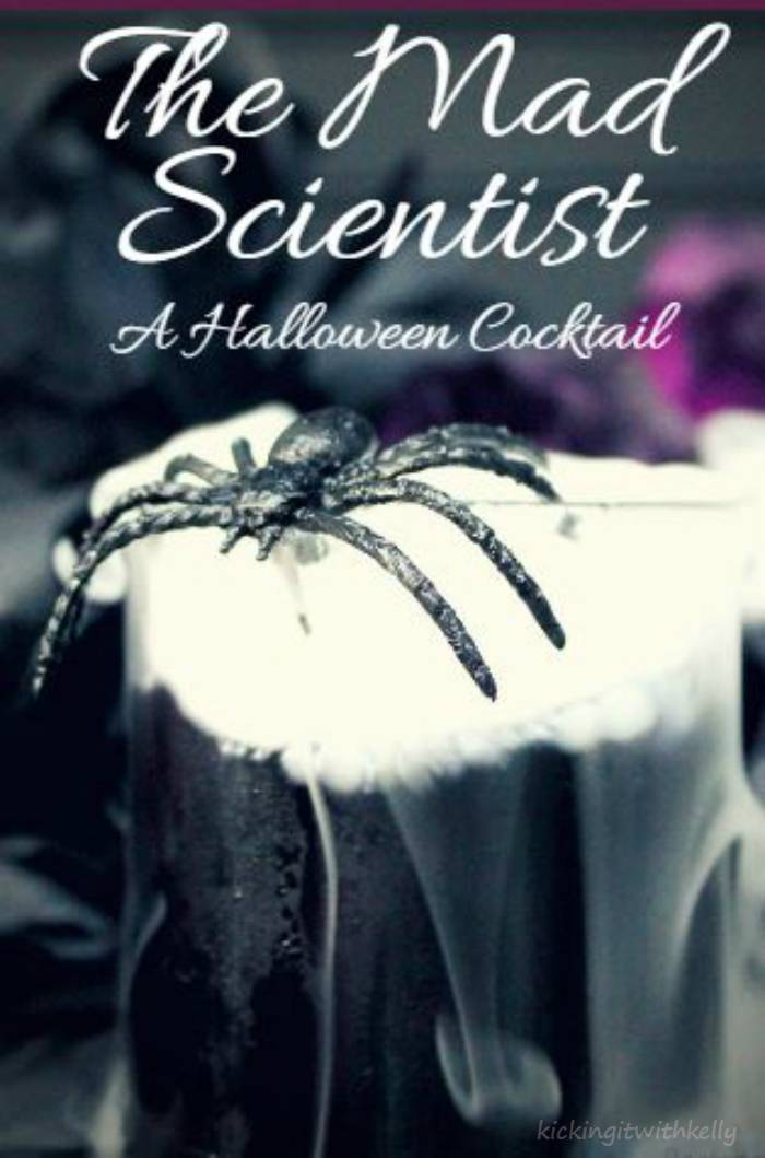 Looking for a Halloween cocktail that is as visually stunning as it is tasty? You must try The Mad Scientist!