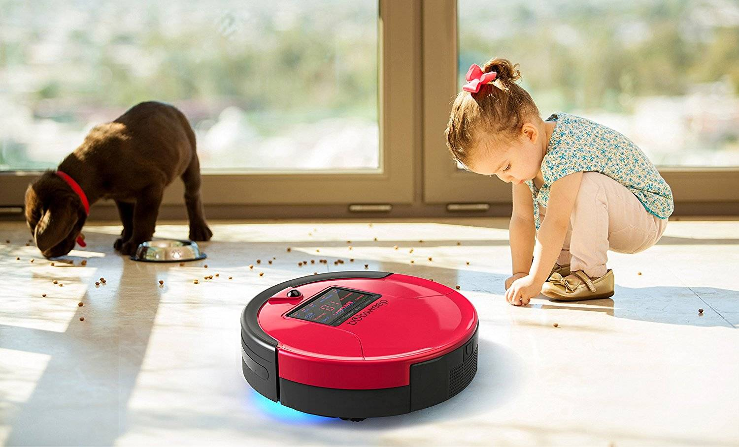 bObsweep Pet Hair Robotic Vacuum And Mop Giveaway