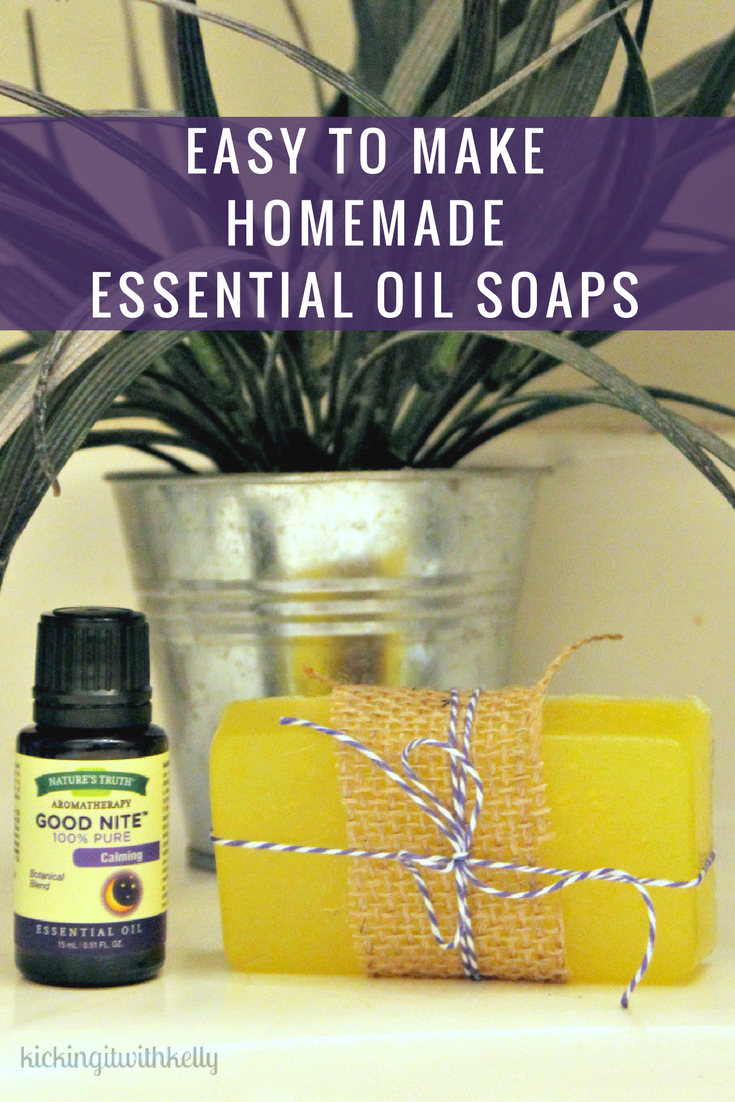 I love saving money on store bought beauty products by making them myself. These Easy To Make Homemade Essential Oil Soaps make my skin feel and smell amazing!