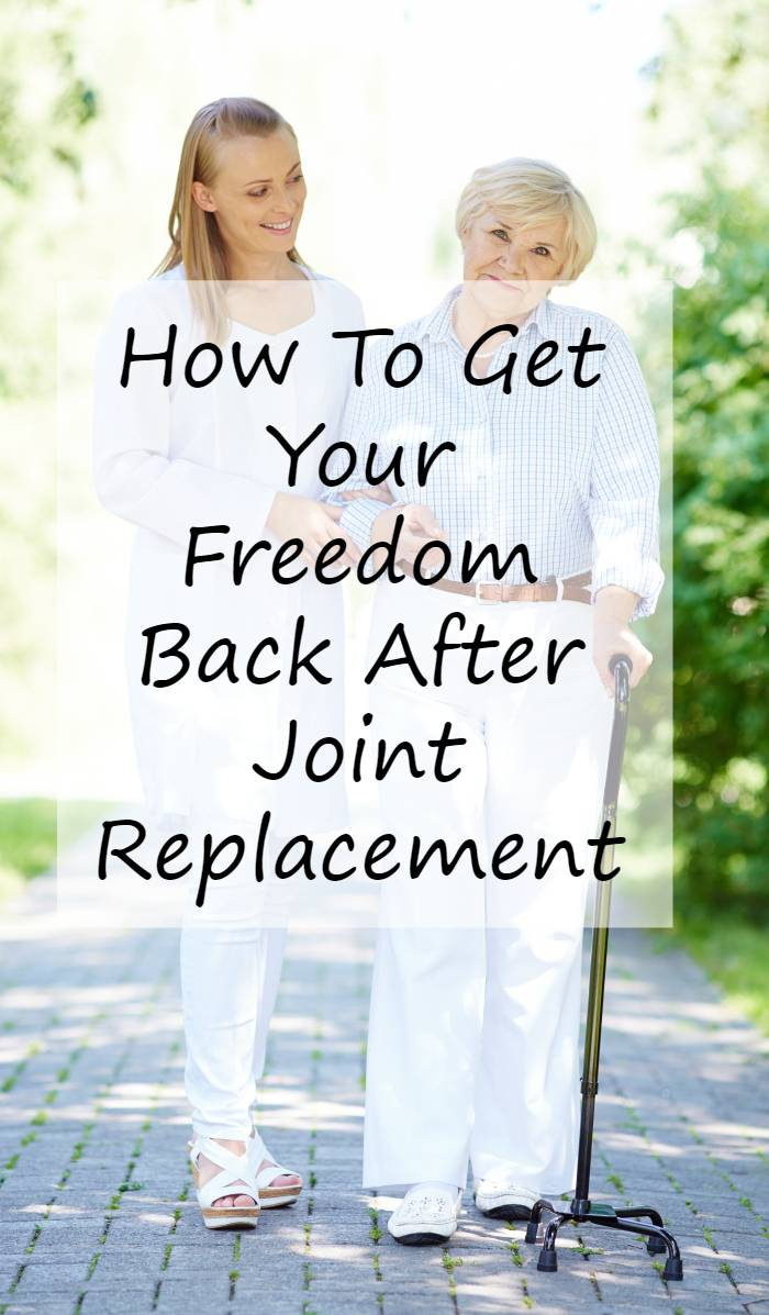 If you or a loved one suffer from hip or knee pain, you can Get Your Freedom Back After Joint Replacement #ad #IC #TimeToHitPlay