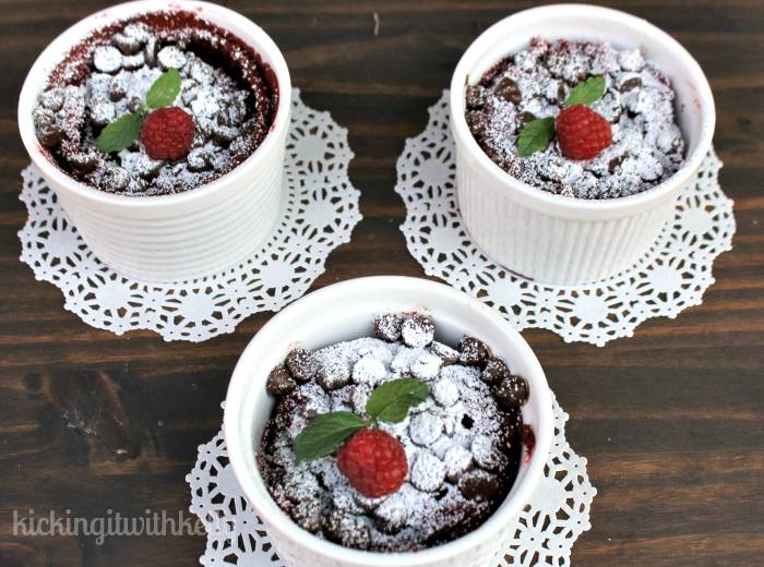 Slow Cooker Flourless Red Velvet Protein Cakes