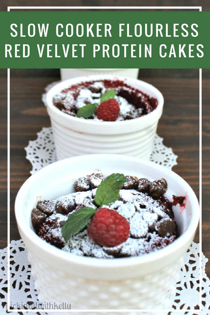 When I get busy with the holidays, I don't always eat well. Instead of skipping meals, I grab a Medi Weightloss Shake-to-Go. For my sweet tooth, I make my Slow Cooker Flourless Red Velvet Protein Cakes, using Medi Weightloss Red Velvet Premium Protein Shake Powder!