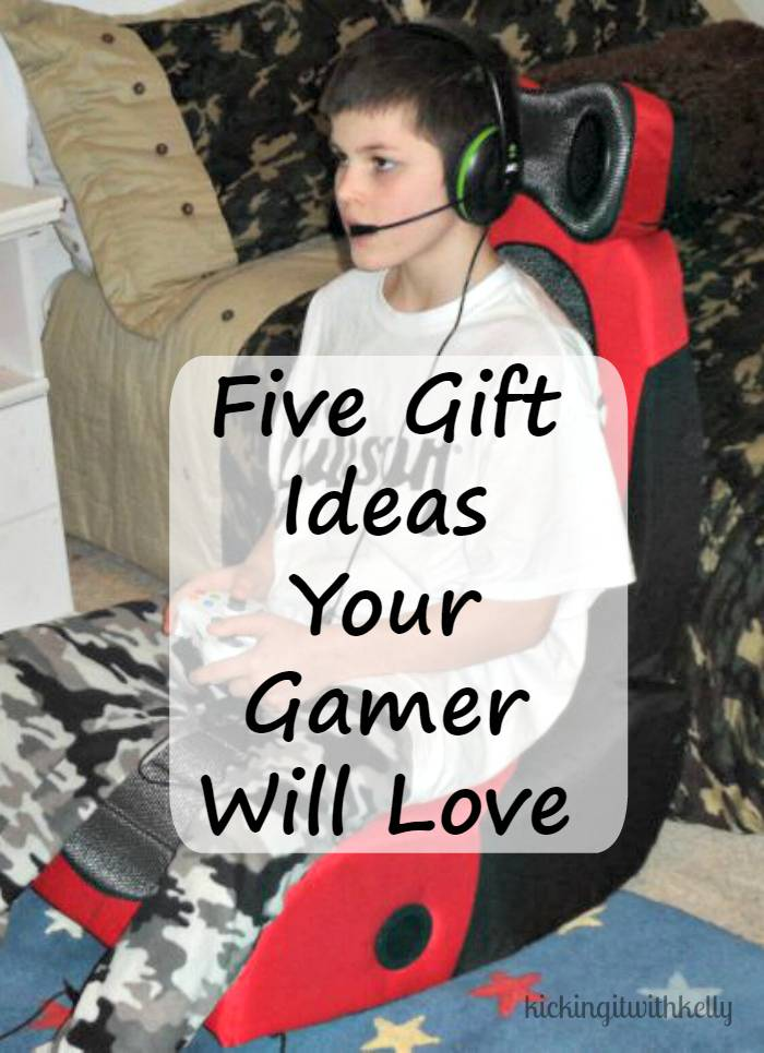I have a teenage son. When he isn't doing schoolwork or chores, he is in his man cave playing video games. He is a gamer. He has an online community he plays games with. He is serious about his favorite hobby. When it comes to the holidays, he is pretty easy to buy for. Do you have a gamer in your home? Here are five gift ideas your gamer will love!