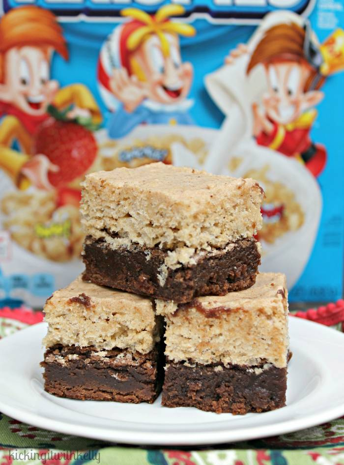 Brown Sugar Cinnamon Kellogg's® Rice Krispies®Brownies 3