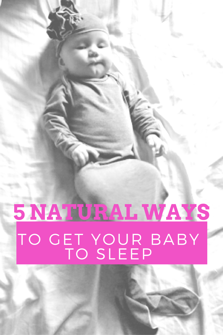 Too many sleepless nights with your new bundle of joy? Not with these Six Natural Ways To Get Your Baby To Sleep