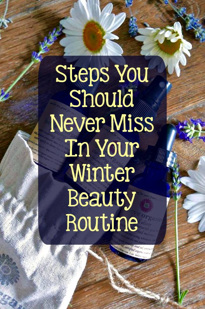 My skin gets so dry in the winter. With these Steps To The Perfect Winter Beauty Routine,, I have the best skin and nails!