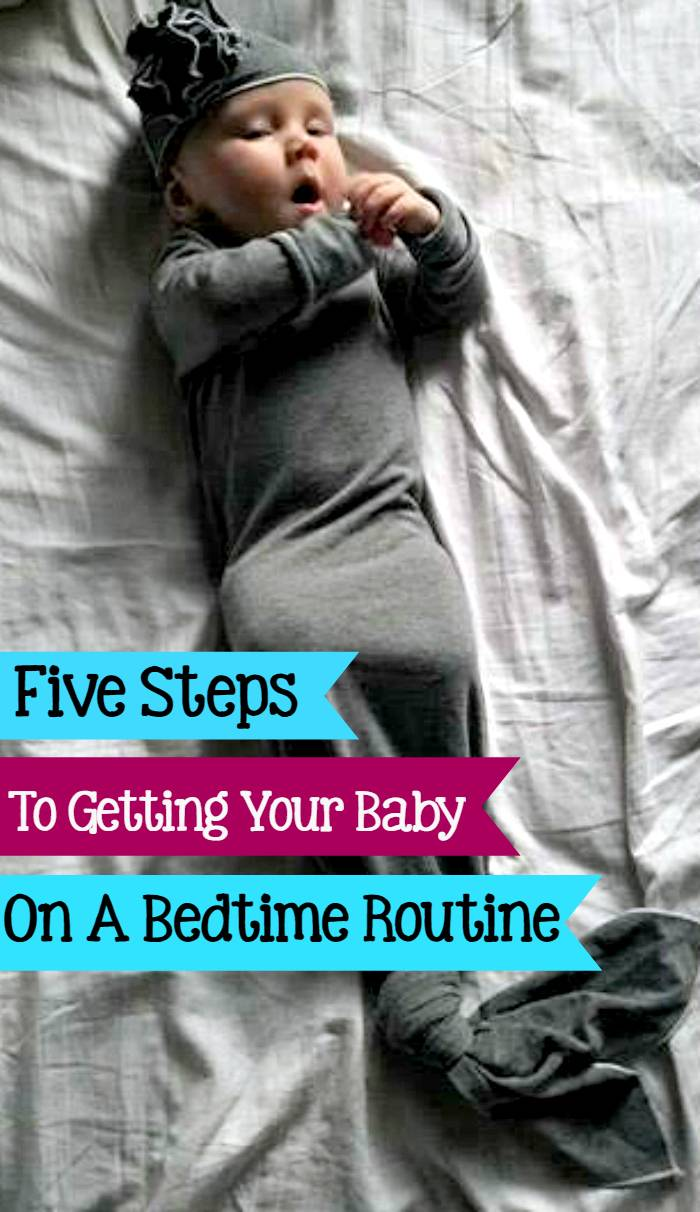 Getting your baby on a schedule is as important for them as it is for you. These 5 Easy Steps To Get Your Baby On A Bedtime Routine will make nighttime a breeze.