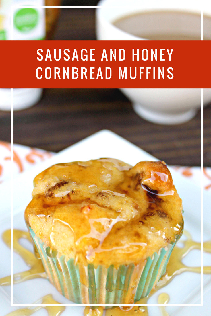 When I am pressed for time in the morning, I need a quick breakfast solution my kids can eat in the car. That would be my Sausage And Honey Cornbread Muffins. They are light, sweet with honey (Winnie the Pooh would love them!) and has enough protein to get them through to lunch without a rumbly in their tumbly.