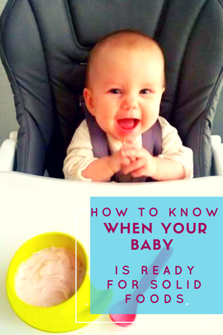 As a parent, I know how difficult and rewarding it can be raising children. One of the milestones we looked forward to most was when they transitioned from the bottle. If your child is at this stage, I have great tips on how to know when your baby is ready to eat solid foods.