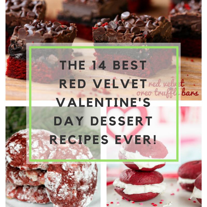The 14 Best Red Velvet Valentine's Day Dessert Recipes Ever!