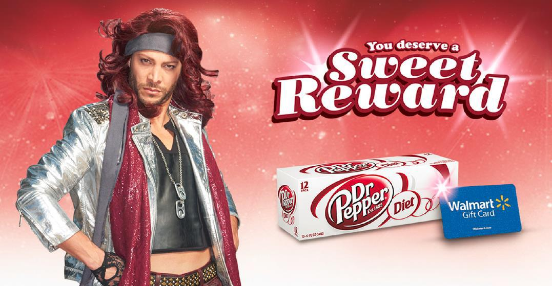 Score Sweet Rewards at Walmart with Diet Dr Pepper #ad #ColorMeSweet